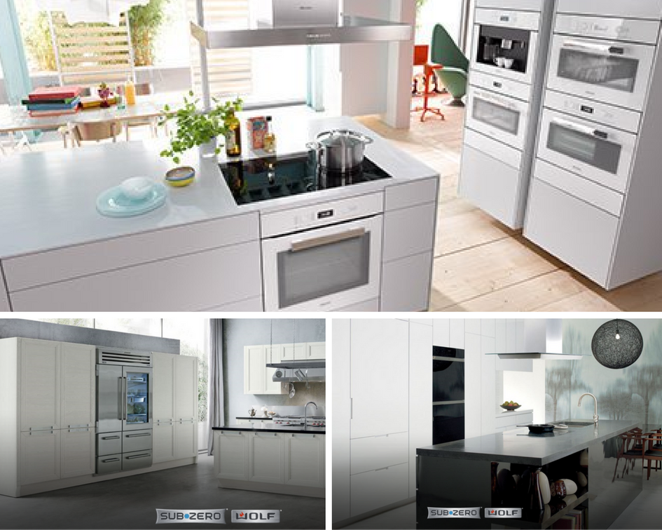 There are more options than ever when it comes to choosing new appliances for your home.  |  Photos from Miele & Subzero