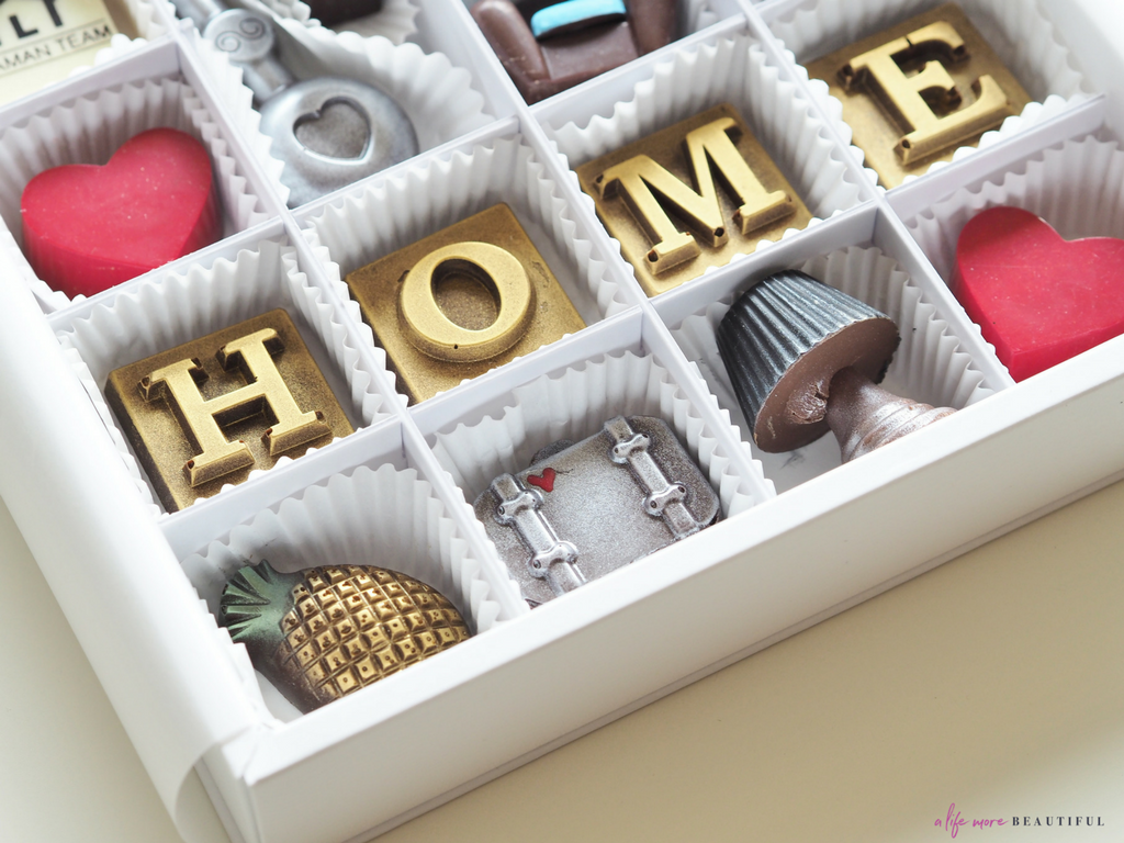 I styled a series of images for Homesville Real Estate using custom chocolates from Maggie Louise Confections. | ALMB
