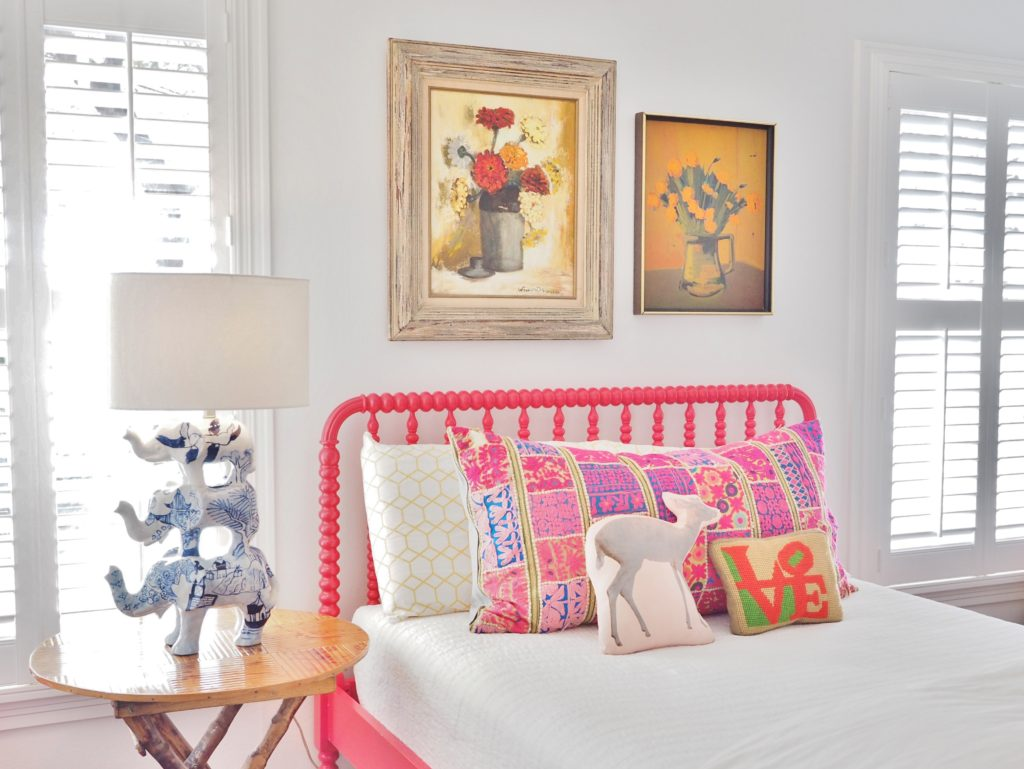 Little girl's room featuring interior design by Merrilee McGehee & photographed by A Life More Beautiful