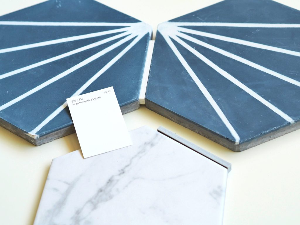 Tile selections for the master bathroom of our Balcones project | A Life More Beautiful