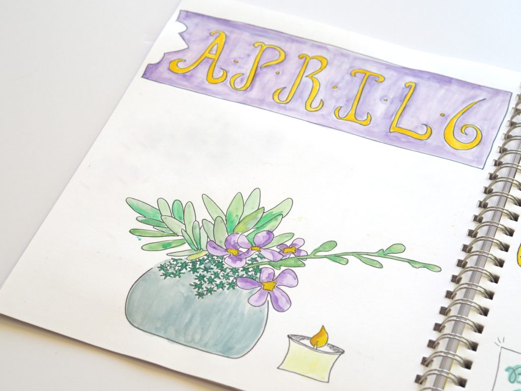 Journaling from April 2017