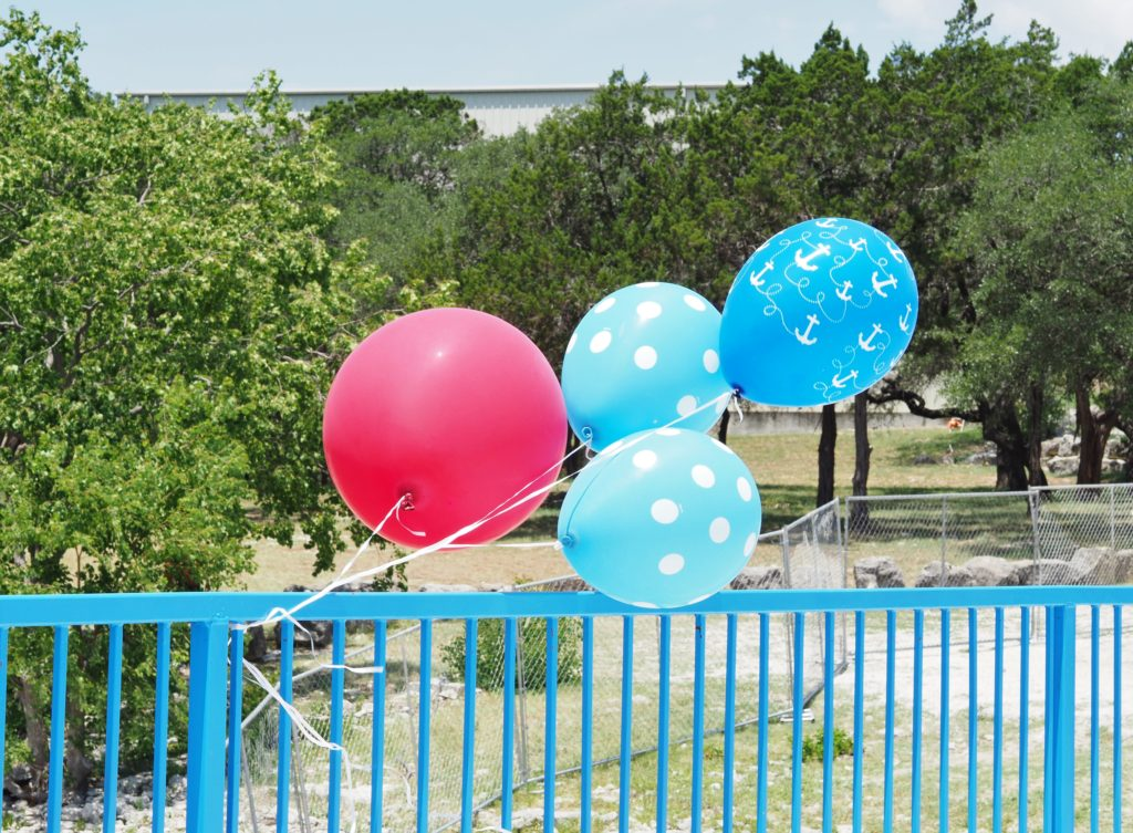 Balloons make everything better | Party design by A Life More Beautiful