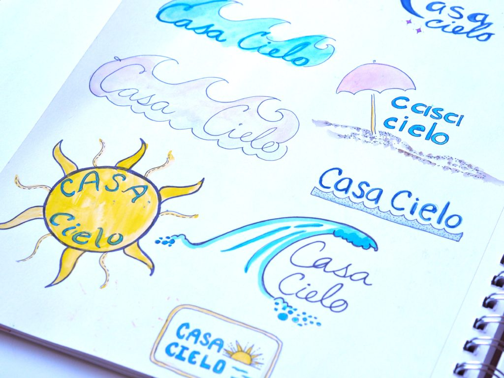 ALMB sketches for Casa Cielo